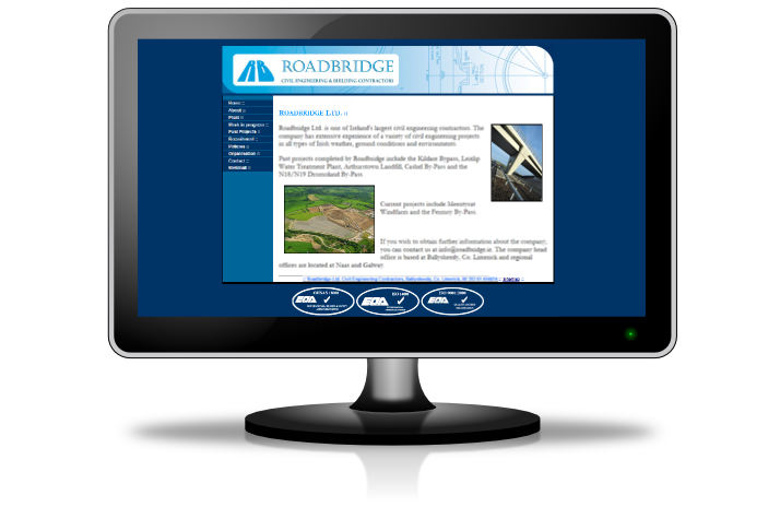 Roadbridge homepage