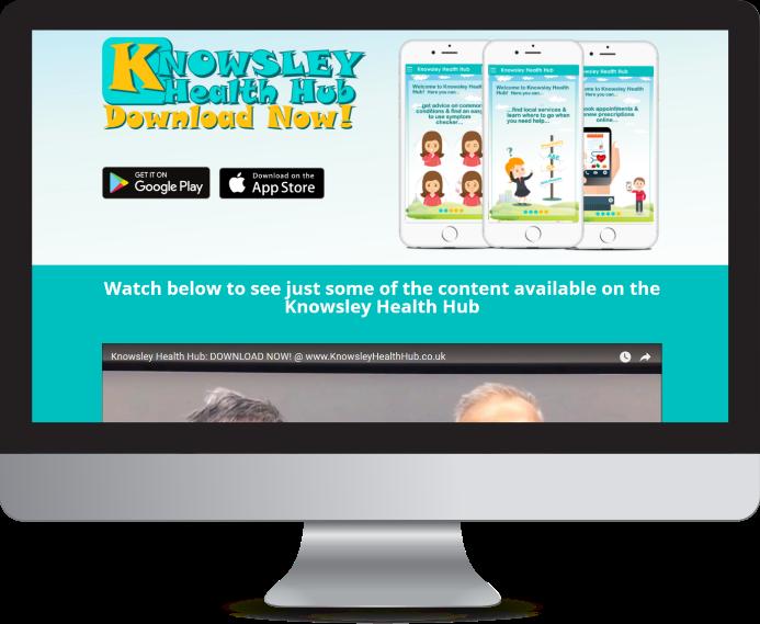 Knowsley Health Hub Website