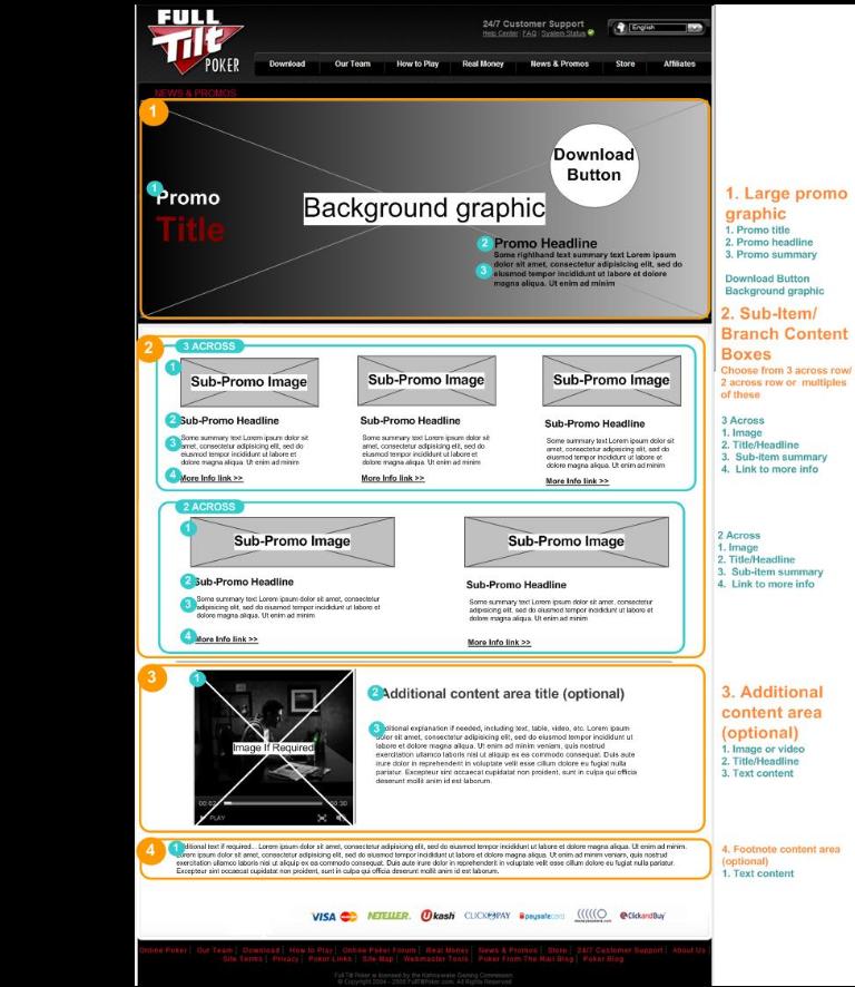 Promo Landing Page Template2
