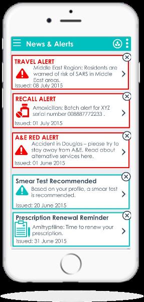 Push Message Alerts