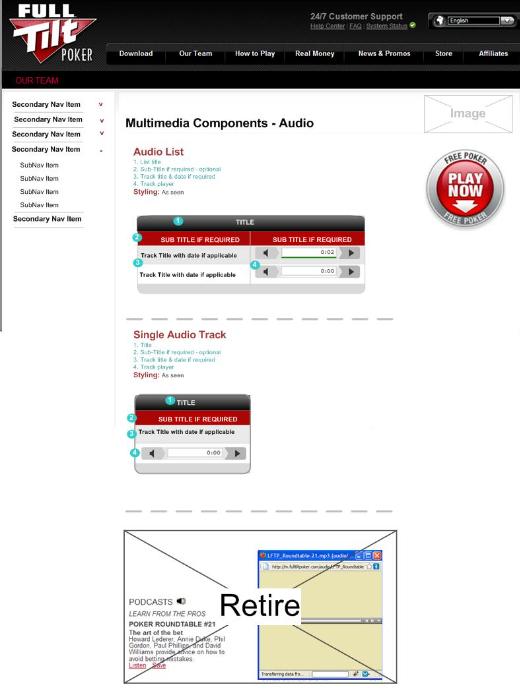 UI Library - Audio Widgets